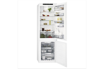 Refrigerateur congelateur en bas Aeg SCE818F6TS 178 CM