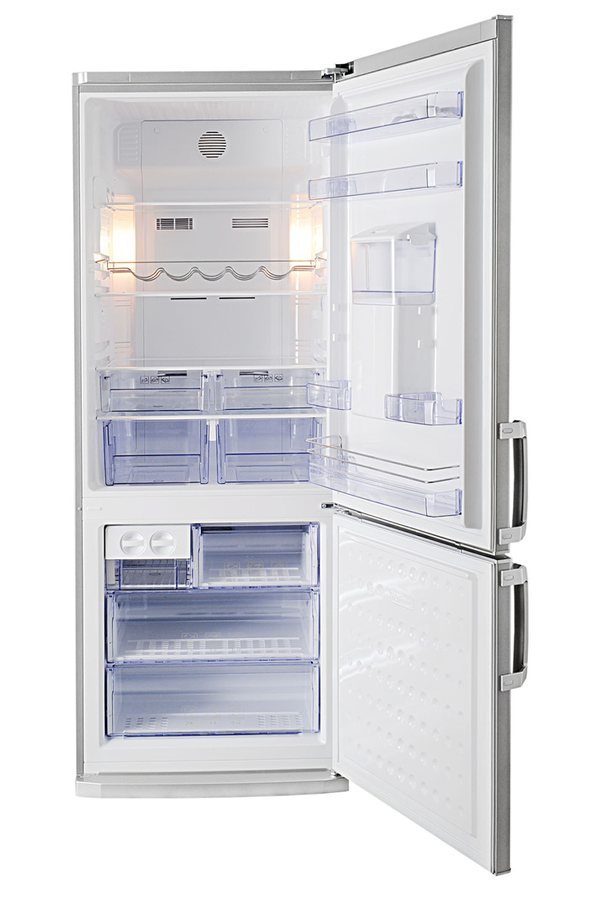refrigerateur congelateur en bas beko cn142220ds 3642259. Black Bedroom Furniture Sets. Home Design Ideas