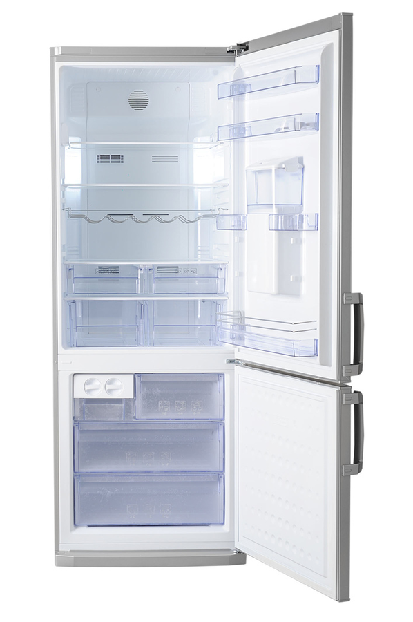 refrigerateur congelateur en bas beko cn142221ds silver 3749924 darty. Black Bedroom Furniture Sets. Home Design Ideas