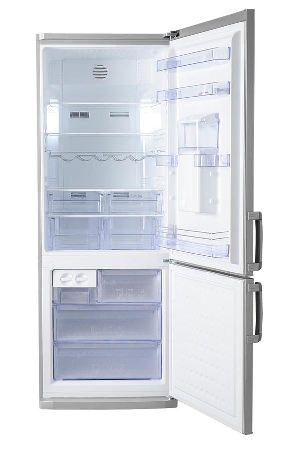 refrigerateur congelateur en bas beko cn142221ds silver darty. Black Bedroom Furniture Sets. Home Design Ideas