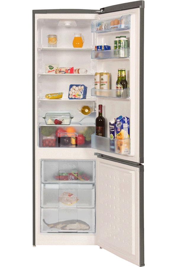 refrigerateur congelateur en bas beko csa31020x 4274393. Black Bedroom Furniture Sets. Home Design Ideas