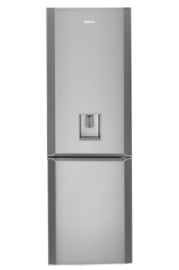 refrigerateur congelateur en bas beko cse134ds silver. Black Bedroom Furniture Sets. Home Design Ideas