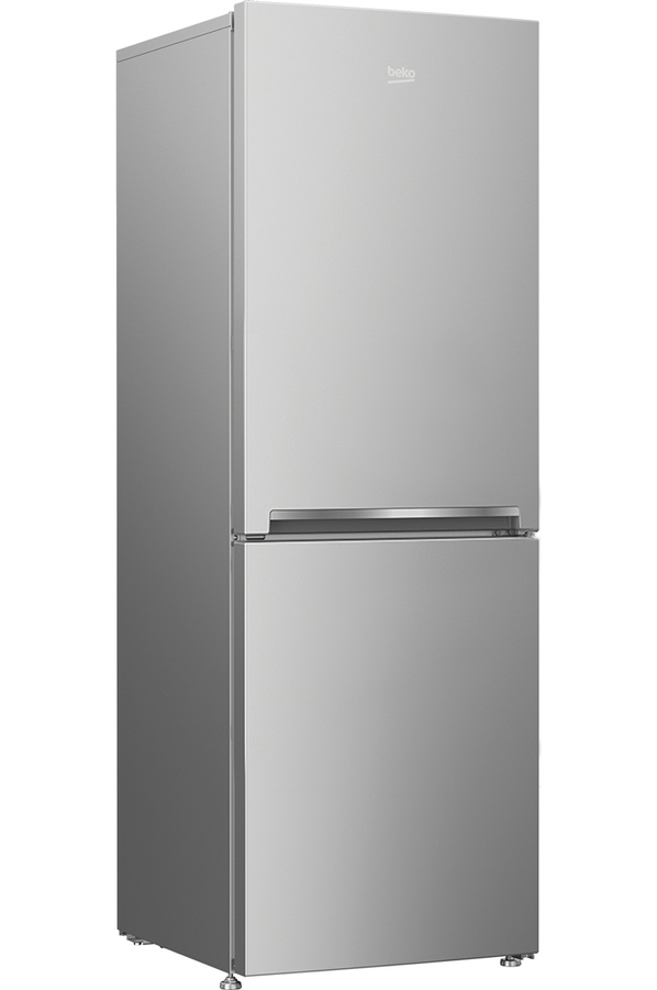 refrigerateur congelateur en bas beko rcna340k20s silver. Black Bedroom Furniture Sets. Home Design Ideas