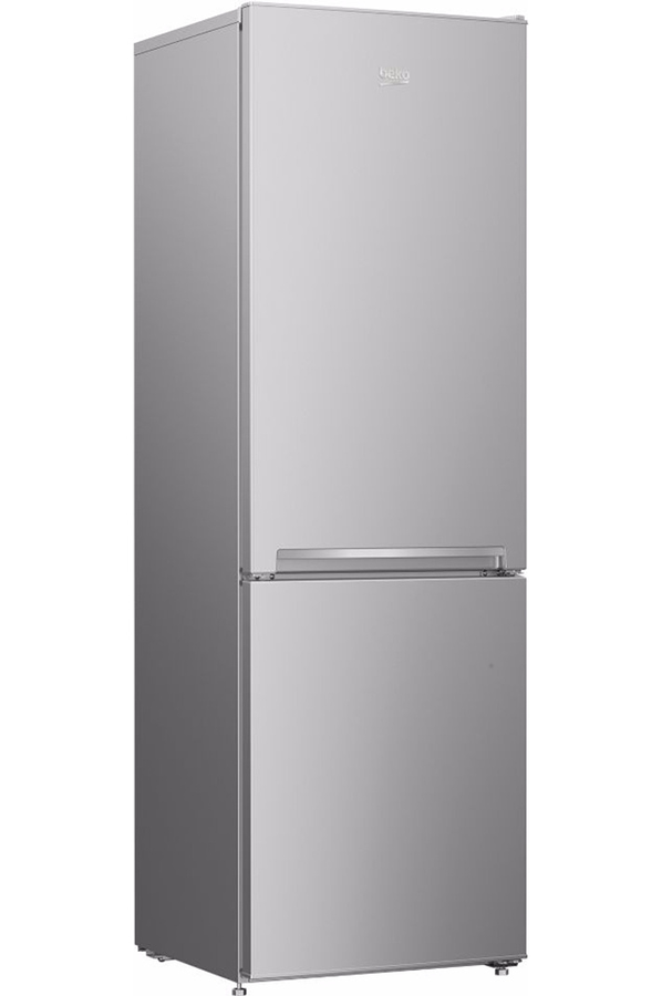 refrigerateur congelateur en bas beko rcsa270k20s silver. Black Bedroom Furniture Sets. Home Design Ideas