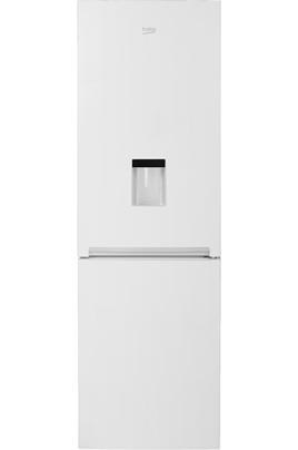 Volume 343 L - Dimensions HxLxP : 185.3 x 59.5 x 65 cm - A+ Réfrigérateur à froid statique 230 L Congélateur à froid statique 113 L Distributeur d'eau fraîche en façade