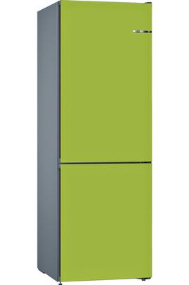 Réfrigérateur + Façade interchangeable VarioStyle Réfrigérateur à froid ventilé 237 L Congélateur à froid ventilé 87 L - Eclairage LED Volume 324 L - Dimensions HxLxP : 186x60x66 cm - A++ Système Vario Style - 2 tiroirs VitaFresh