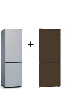 Refrigerateur congelateur en bas Bosch KGN36IJEB KSZ1AVD00