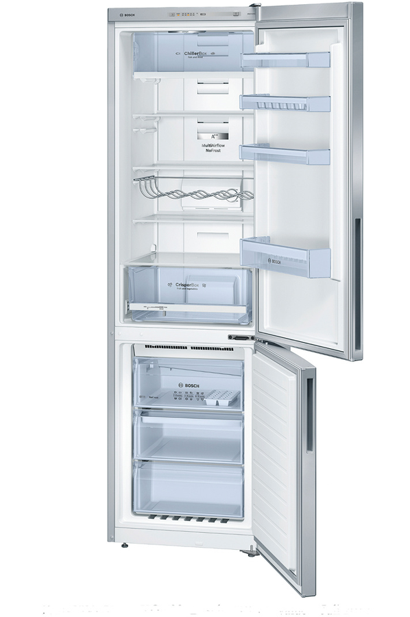 refrigerateur congelateur en bas bosch kgn39vl32 inox 4080009 darty. Black Bedroom Furniture Sets. Home Design Ideas