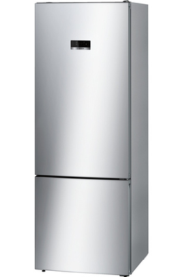 Volume 505 L - Dimensions HxLxP : 193x70x80 cm - A++ Réfrigérateur à froid ventilé 400 L Congélateur à froid ventilé 105 L Eclairage LED - Mode Eco