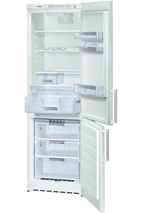 refrigerateur congelateur en bas bosch kgs 36 a 10 blanc 3086160 darty. Black Bedroom Furniture Sets. Home Design Ideas