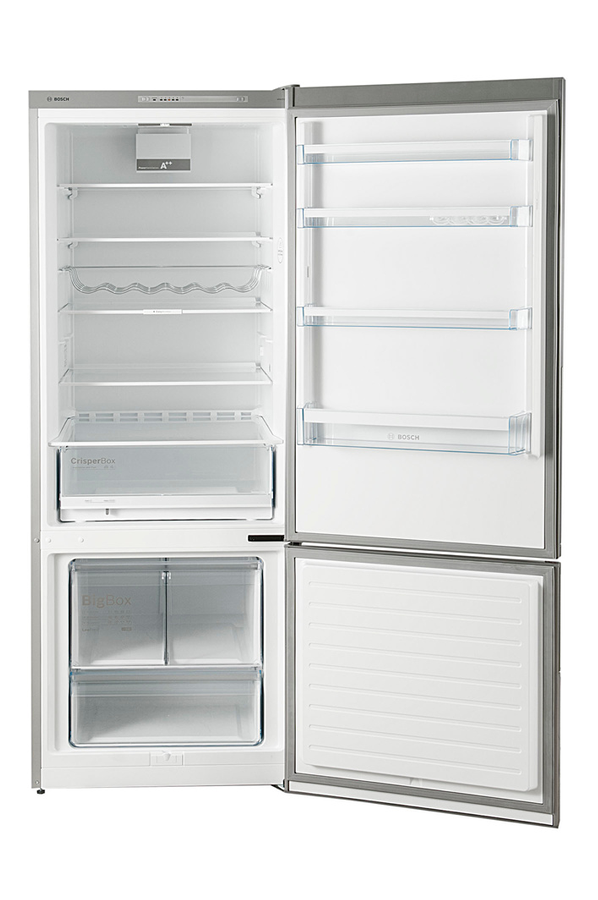 refrigerateur congelateur en bas bosch kgv58vl31s inox 4009827 darty. Black Bedroom Furniture Sets. Home Design Ideas