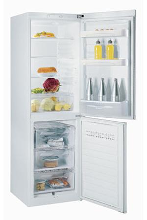 refrigerateur congelateur en bas candy cfm 3260 e blanc darty. Black Bedroom Furniture Sets. Home Design Ideas