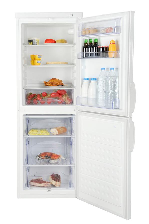 refrigerateur congelateur en bas faure frb 229 mwo 3341771 darty. Black Bedroom Furniture Sets. Home Design Ideas