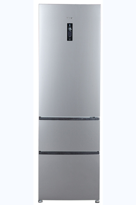 refrigerateur congelateur en bas haier a2fe635cfj inox 3818845. Black Bedroom Furniture Sets. Home Design Ideas