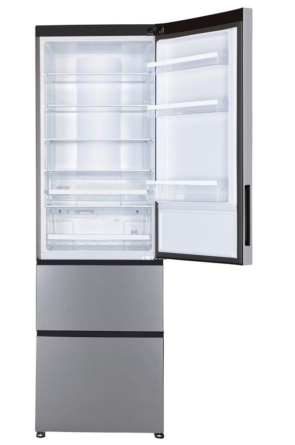 Haier a2fe635cfj inox r frig rateur electrom nager - Refrigerateur congelateur tiroir haier ...