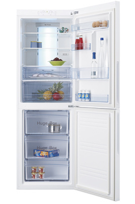 refrigerateur congelateur en bas haier cfe629cwe 3618889 darty. Black Bedroom Furniture Sets. Home Design Ideas