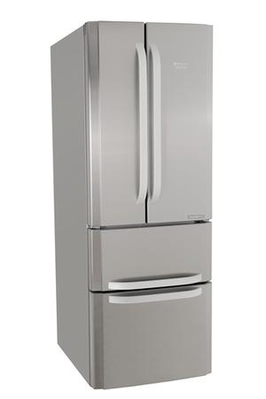 R frig rateur multi portes hotpoint e4daaxc inox darty - Refrigerateur porte avec congelateur ...