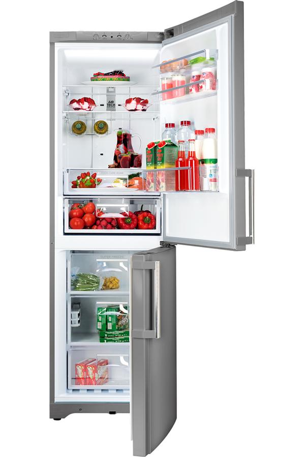 Refrigerateur congelateur en bas hotpoint eboh 18243 f sl - Frigo gros volume ...