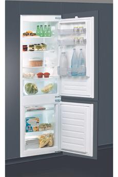 Refrigerateur congelateur en bas Indesit B18A1D/I1 178CM