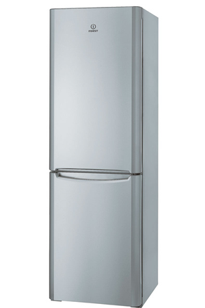 refrigerateur congelateur en bas indesit biaa 13p si silver darty. Black Bedroom Furniture Sets. Home Design Ideas