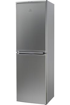 Refrigerateur congelateur en bas CAA55NFSM SILVER Indesit