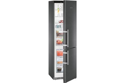 Volume 343 L - Dimensions (H xL x P) : 201 x 60 x 66.5 cm - A+++ Réfrigérateur à froid brassé 242 L Congélateur à froid ventilé 101 L Contrôle électronique - Bluperformance
