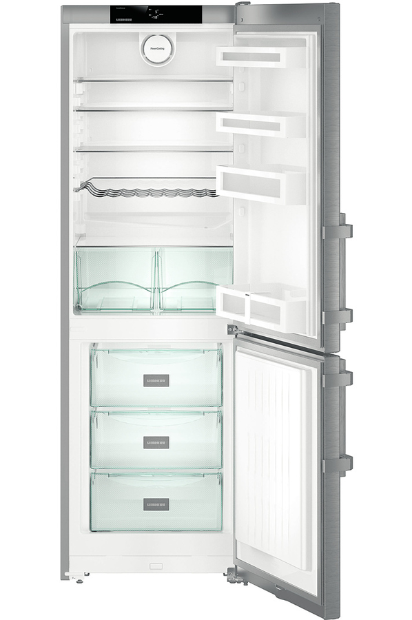 refrigerateur congelateur en bas liebherr cef 3525. Black Bedroom Furniture Sets. Home Design Ideas