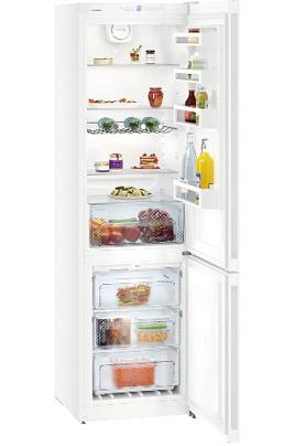 Volume 338 L - Dimensions HxLxP : 201.1x60x65.5 cm - A++ Réfrigérateur à froid brassé 243 L Congélateur à froid ventilé 95 L Contrôle électronique - Eclairage LED