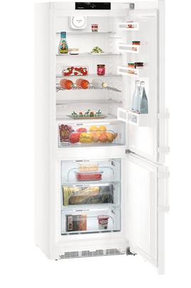 Volume 402 L - Dimensions HxLxP : 201x70x66.5 cm - A+++ Réfrigérateur à froid brassé 296 L Congélateur à froid ventilé 106 L Système Vario Space