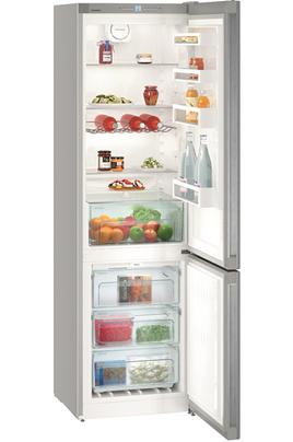Volume 338 L - Dimensions HxLxP : 201.1 x 60 x 65.5 cm - A++ Réfrigérateur à froid brassé 243 L Congélateur à froid ventilé 95 L Contrôle électronique - Eclairage LED