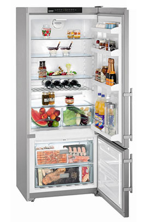 refrigerateur congelateur en bas liebherr cnpesf4613 inox 3758265 darty. Black Bedroom Furniture Sets. Home Design Ideas