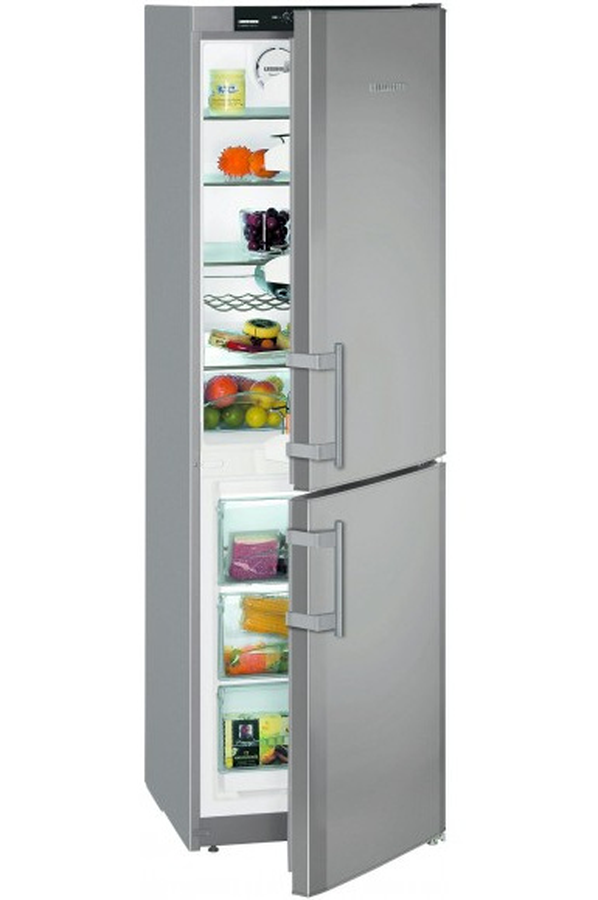 refrigerateur congelateur en bas liebherr cnsl 306 gris silver cnsl 306 inox 4006046 darty. Black Bedroom Furniture Sets. Home Design Ideas