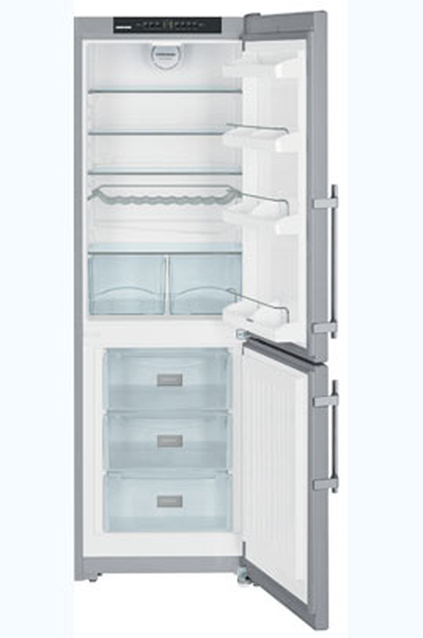 refrigerateur congelateur en bas liebherr cpesf3523 2 inox 3782506 darty. Black Bedroom Furniture Sets. Home Design Ideas