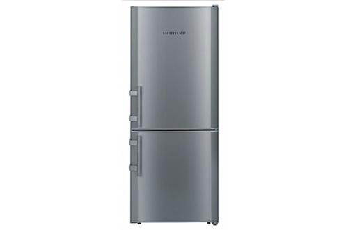 Volume 208 L - Dimensions HxLxP : 137.2x55x63 cm - A++ Réfrigérateur à froid Statique 155 L - 39 dB Congélateur à froid statique 53 L - Eclairage LED Contrôle électronique - Système Vario Space