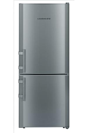 Refrigerateur congelateur en bas liebherr cusl2311 silver - Refrigerateur largeur 70 ...