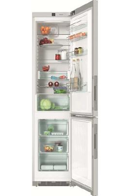 Volume 361 L - Dimensions HxLxP : 201x60x63 cm - A+++ Réfrigérateur à froid brassé 260 L Congélateur à froid ventilé 101 L Poignées intégrées à dépression