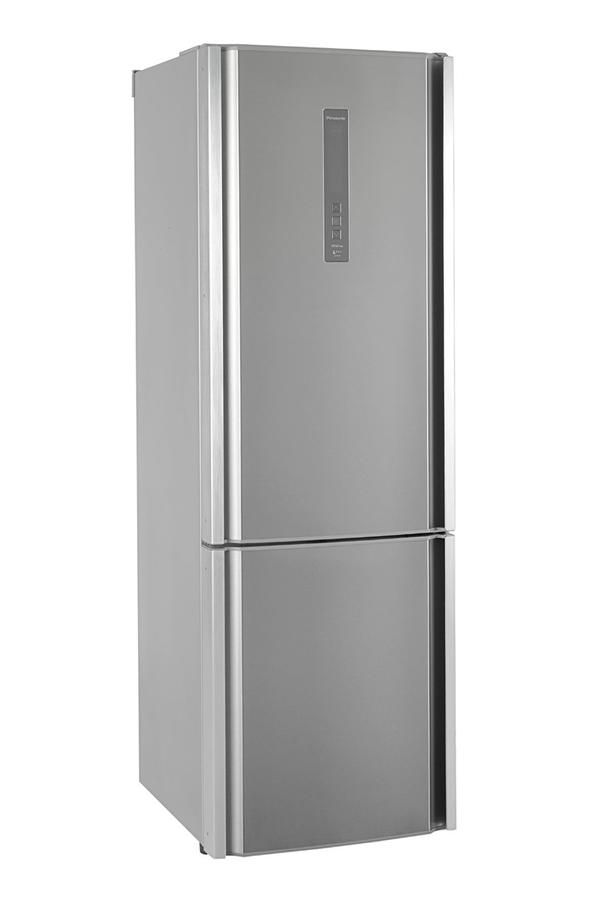 refrigerateur congelateur en bas panasonic nr-b32fe2-xe inox