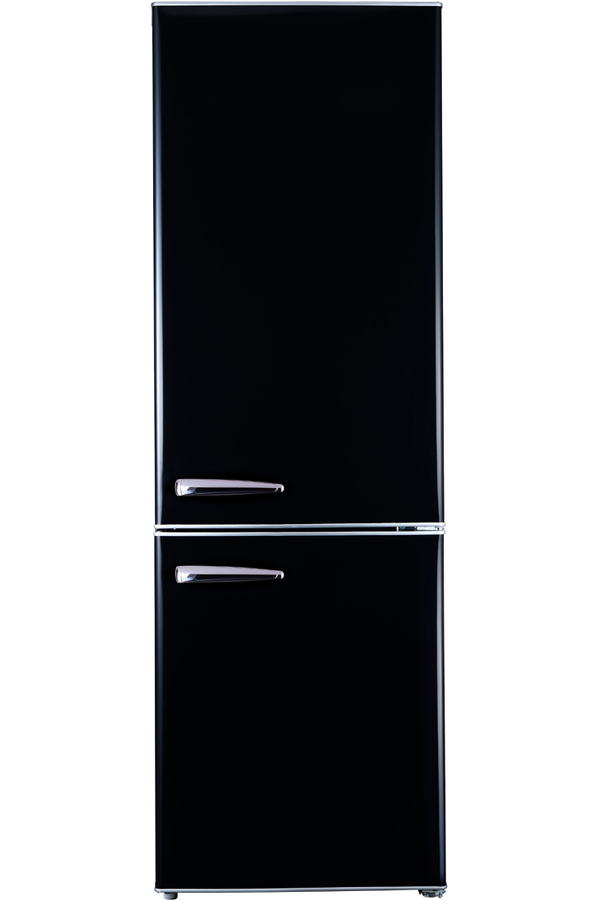 refrigerateur congelateur en bas proline cth 301 retro black 4183118 darty. Black Bedroom Furniture Sets. Home Design Ideas