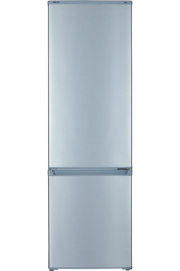 refrigerateur congelateur en bas proline plc 281 silver 4014510 darty