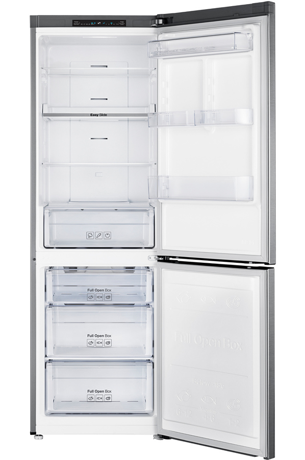 refrigerateur congelateur en bas samsung rb30j3000sa. Black Bedroom Furniture Sets. Home Design Ideas