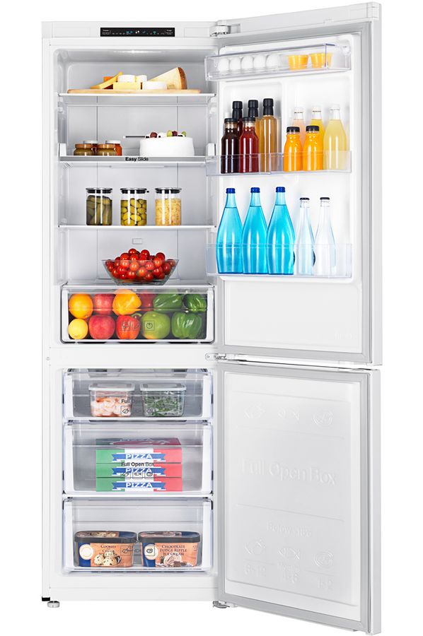 refrigerateur congelateur en bas samsung rb30j3000ww darty. Black Bedroom Furniture Sets. Home Design Ideas