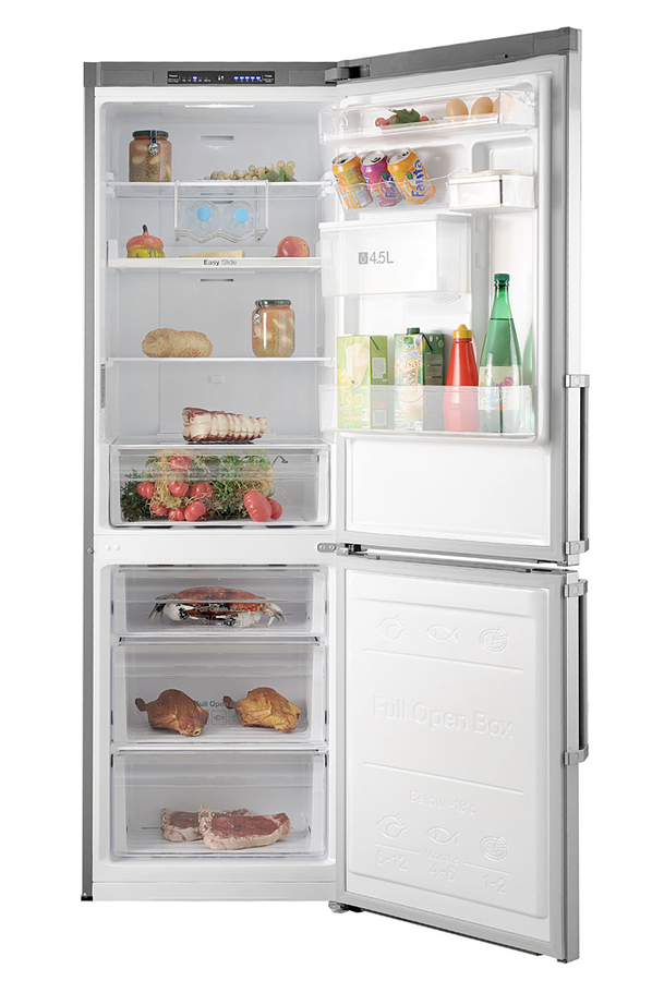 refrigerateur congelateur en bas samsung rb31fwjndsa inox. Black Bedroom Furniture Sets. Home Design Ideas