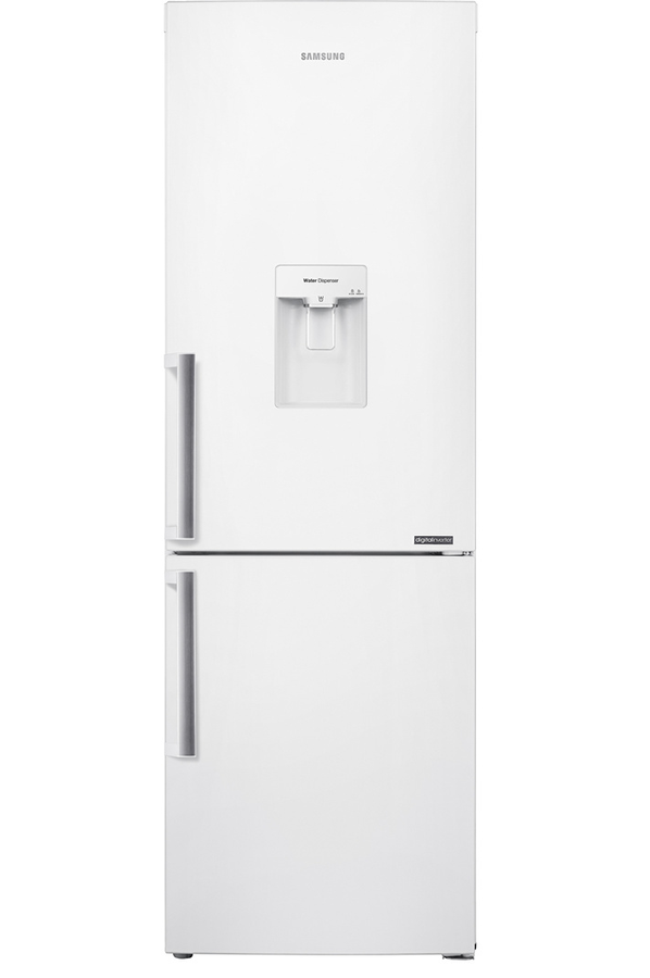 refrigerateur congelateur en bas samsung rb33j3700ww (4086368) | darty