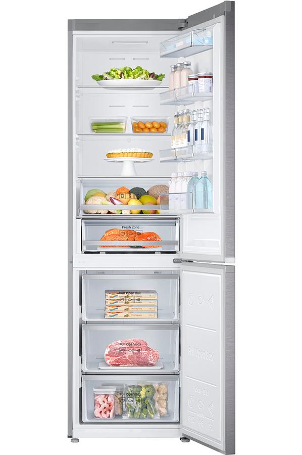 refrigerateur congelateur en bas samsung rb36j8215sr inox darty. Black Bedroom Furniture Sets. Home Design Ideas