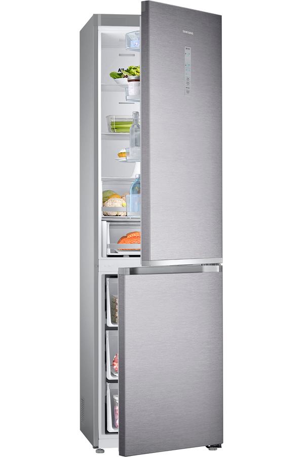 refrigerateur congelateur en bas samsung rb36j8215sr inox darty. Black Bedroom Furniture Sets. Home Design Ideas