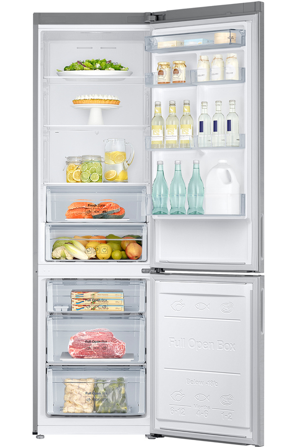 refrigerateur congelateur en bas samsung rb3ej5200sa. Black Bedroom Furniture Sets. Home Design Ideas
