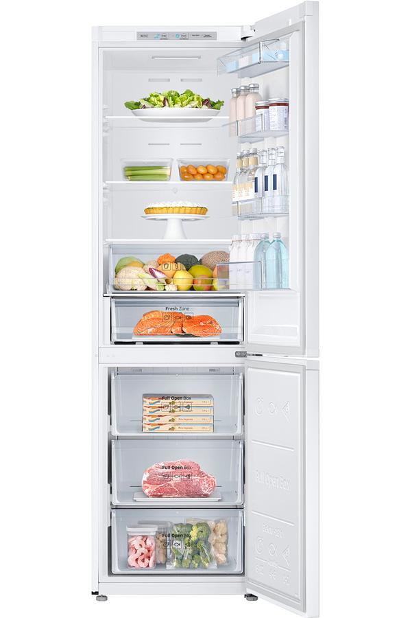 refrigerateur congelateur en bas samsung rb41j7000ww. Black Bedroom Furniture Sets. Home Design Ideas