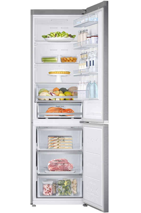 refrigerateur congelateur en bas samsung rb41j7215sr inox 4084608 darty. Black Bedroom Furniture Sets. Home Design Ideas