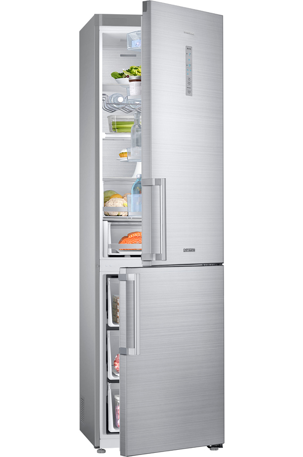 refrigerateur congelateur en bas samsung rb41j7359s4 inox. Black Bedroom Furniture Sets. Home Design Ideas
