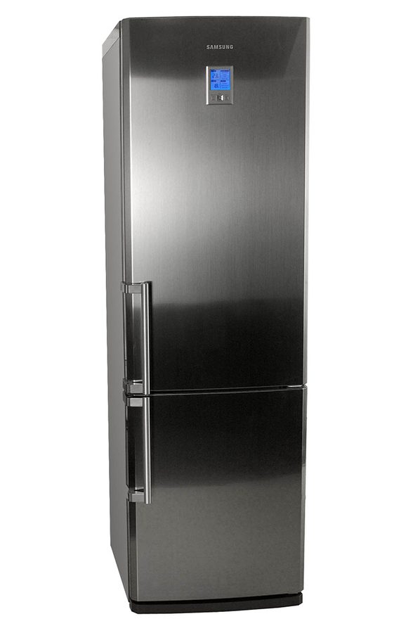 refrigerateur congelateur en bas samsung rl44qeis inox. Black Bedroom Furniture Sets. Home Design Ideas